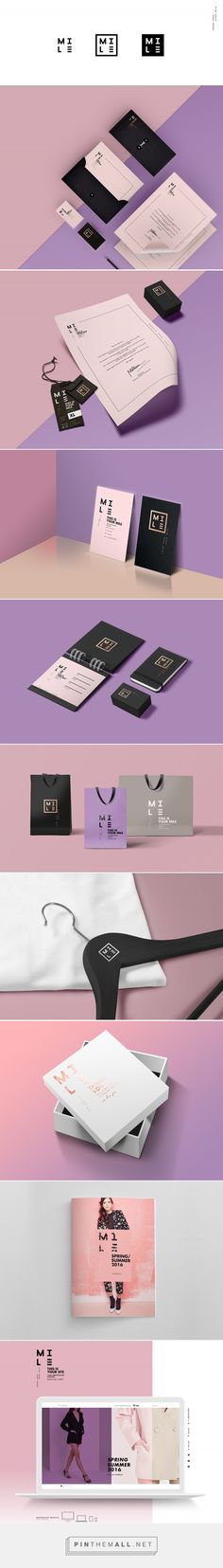 MILE Fashion Brand Identity by Dung Tran | Fivestar Branding Agency – Design and Branding Agency & Inspiration Gallery