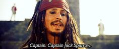 pirates of the caribbean quotes | Pirates of the Caribbean Quote (About Jack Sparrow introduction gifs ...