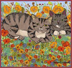 Karen`s Postcard Paintings