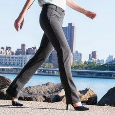 77cef7080f Houndstooth Straight-Leg Dress Pant Yoga Pants  yogapants High Waisted  Dress Pants