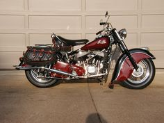 1950s Indian Chief Motorcycle