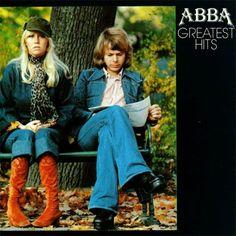 ABBA Greatest Hits Vinyl Record LP Epic S EPC 69128 1976 EX Original Pressing