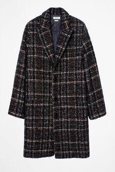 Mikado Fantaisie Coat, brown, Zadig & Voltaire