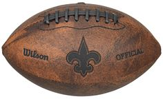 New Orleans Saints Football - Vintage Throwback - 9 Inches (backorder)
