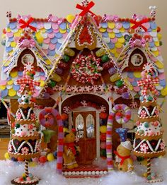 Wednesday's Child: Gingerbread House Redux