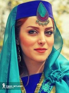 Traditional Iranian woman