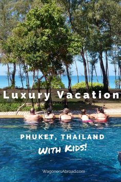 It's Time For A Family Vacation! Making Magical Memories.  Marriott's Phuket Beach Club.  Read more on WagonersAbroad.com