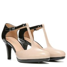 Mattison T-strap - totally love these heels to wear to work with a pencil skirt or on the weekend with bootcut jeans