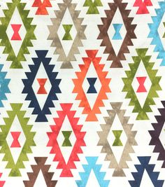 Outdoor Fabric-Aztec Print