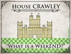 Game of Thrones House Sigils for Other TV Families - Downton Abbey! #GoT