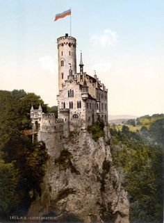 lichtenstein-castle2, 7 most beautiful castles in Germany