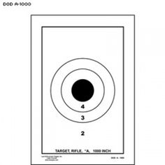 Modified Ltr Ii Target With Neck Line Added Designed For