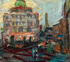 Frank Auerbach - The Camden Theatre (1976)