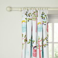 Little Home At John Lewis Dots Dolls Dolly Pencil Pleat Blackout Lined Curtains Nursery