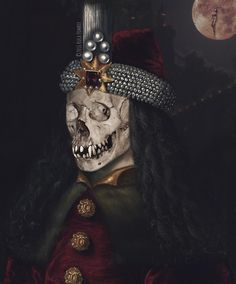 Vlad Drăculea Isn't he a handsome vampire? Gothic Horror, Skull Art, Halloween Face Makeup, Handsome, Skulls, Skeletons, Sugar Skull Art