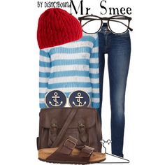 """Mr. Smee"" by lalakay on Polyvore"