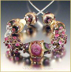 VICKIE LEE Lampwork Beads