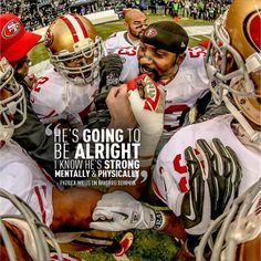 SF 49er Patrick Willis quote re: Navarro Bowman after Bowman's horrible ACL injury during game btw 9ers and seahawks 1/19/14