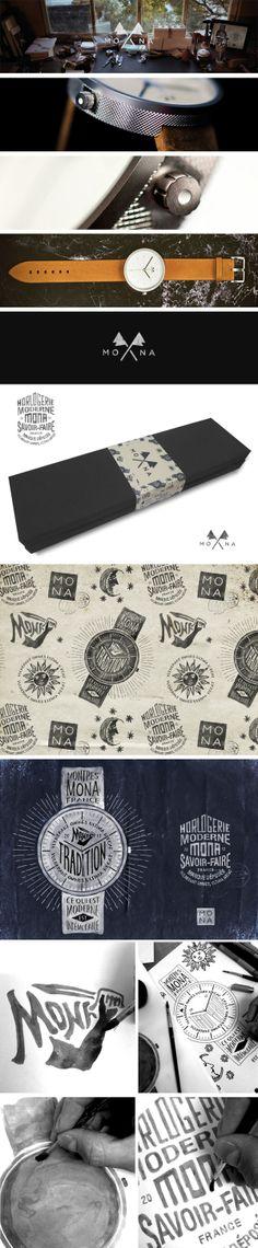 Mona branding, packaging, ads