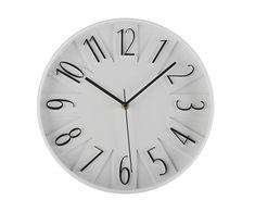 """Zegar ścienny """"Geoffroy White"""", Ø 30 x 4 cm"""