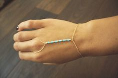 Cleopatra Bracelet- gold with turquoise and gold