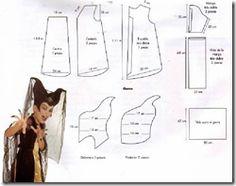 Elegante disfraz de bruja maléfica para niña