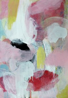 Original abstract painting acrylic on canvas by CristinaBStudio