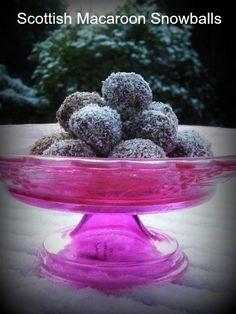 Scottish macaroon snowballs and last minute Christmas treats | BabyCentre Blog