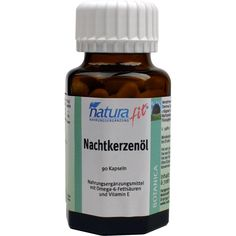 NATURAFIT Nachtkerzenöl+Vit.E Kapseln:   Packungsinhalt: 90 St Kapseln PZN: 08921165 Hersteller: NaturaFit GmbH Preis: 13,04 EUR inkl. 7…