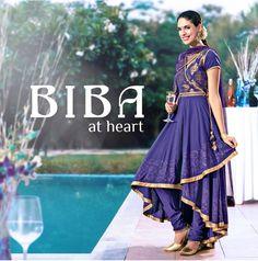cefb6b9954 Biba India Hint, Ethnic Sarees, Kamiz, Indian Dresses, Indian Outfits,  Indian