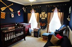 Love this Nautical Nursery idea. http://www.bedroominteriordesign.org/creating-baby-nursery-room-nautical-theme/cute-baby-nursery-decorating-in-nautical-ideas/