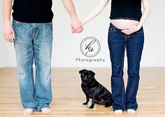 Maternity Photos with Pets