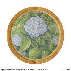 Hydrangeas at Lanhydrock, Cornwall Cheese Board