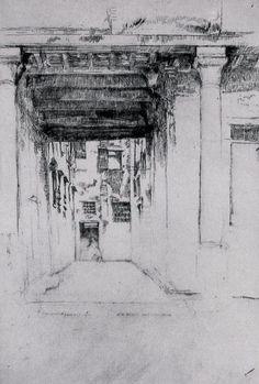 James Abbott McNeill Whistler in Venice