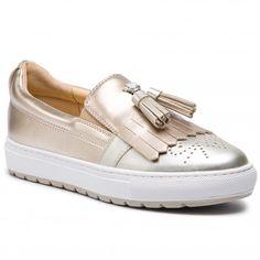 d7bed86ac13 Κλειστά παπούτσια GEOX - D Breeda A D822QA 000NF C1271 Silver/Lt Gold