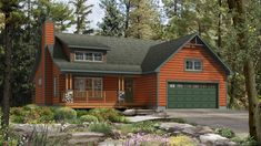 Beaver Homes and Cottages - Mapleton Cabin House Plans, Cabin Floor Plans, Bungalow House Plans, New House Plans, Small House Plans, Beaver Homes And Cottages, Cabins And Cottages, Country Cottages, Cute Small Houses