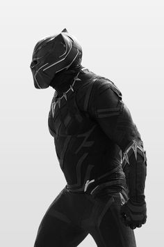 t'challa (black panther) [marvel] Black Panther Marvel, Film Black Panther, Comic Book Characters, Marvel Characters, Comic Books, Fantasy Characters, Dc Movies, Marvel Movies, Captain America Civil War