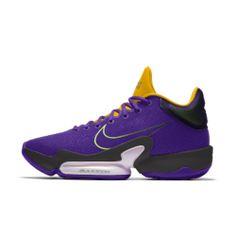 Nike Zoom Rize 2 By You Custom Basketball Shoe Custom Basketball, Nike Basketball Shoes, Nike Id Shoes, Air Max Sneakers, Sneakers Nike, Kobe 9, Circular Pattern, Nike Zoom, Fabric Material