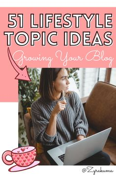 Do you have a writer's block at this very moment? If you said yes, this list will give you 51 lifestyle topic ideas to create your next blog post in no time! If you're a beginner blogger or pro blogger, you should keep this list pinned or bookmarked! | how to start a blog | starting a blog | lifestyle blog ideas | lifestyle blog topics | lifestyle blog post ideas for beginners Create Yourself, Improve Yourself, Pro Blogger, Writer's Block, Blog Topics, Blog Writing, Blog Design, Self Development, Business Tips