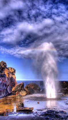 Nakalele Blow Hole - Maui, Hawaii ,from Iryna
