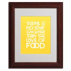 Sincere Love of Food V by Megan Romo Matted Framed Textual Art