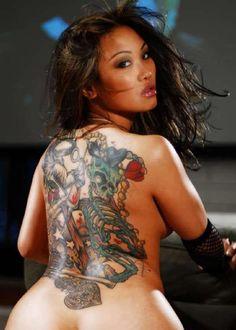 Mature asian tattoo