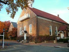 Home Moravian Church, Winston-Salem, NC