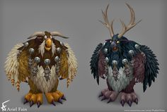 ArtStation - Legion - Moonkin, Ariel Fain