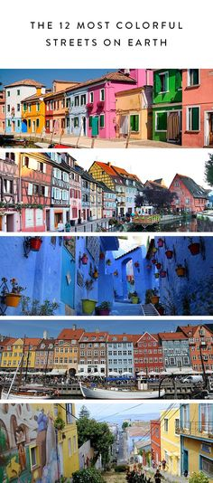 The 12 Most Colorful Streets on Earth via @PureWow
