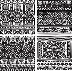 Find Seamless Tribal Texture stock images in HD and millions of other royalty-free stock photos, illustrations and vectors in the Shutterstock collection. Thousands of new, high-quality pictures added every day. African Tribal Patterns, Ethnic Patterns, Tile Patterns, Vector Graphics, Vector Free, Tribal Images, Tribal Designs, African Tattoo, Airplane Drawing