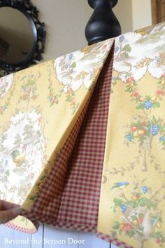 When Fabric Design & Pattern Repeat Influence Window Treatments | Beyond the Screen Door Custom Window Treatments, Kitchen Window Treatments, Valance Window Treatments, Window Coverings, Window Design, Pull Out Spice Rack, Spice Racks, Pan Storage, Storage Drawers