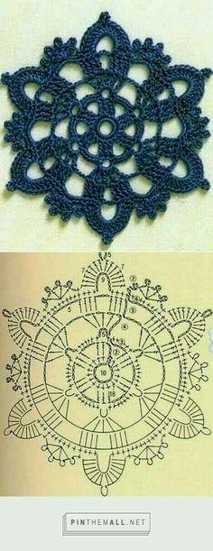 Motivo a crochet
