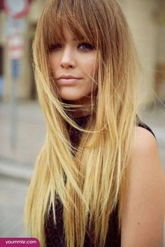 ... , the Hairstyle that you must see is Ombre Blond – Hair color that is slightly lighter and brighter at the ends. Description from pinterest.com. I searched for this on bing.com/images