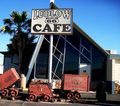 Ludlow Cafe, Ludlow CA Close to I-40 easy off, easy on, Download picture on Flickr  Please Click More Info...